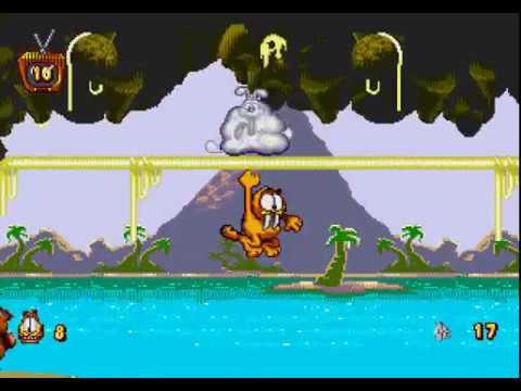 Mega Drive Longplay [496] Garfield: Caught In The Act