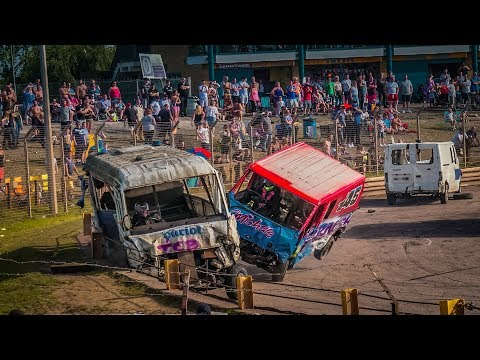 Arena Essex Unlimited Big Van Banger Racing - Rawlins Transport - 28th Aug 2017