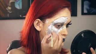 EXTERMINADORA DO FUTURO 🌹   Tutorial Halloween