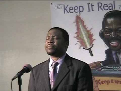 'I am available' performed by Pastor Terrance Sutt...