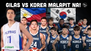 Tapatang Gilas Pilipinas at South Korea sa 3rd Window inaabangan ng lahat!