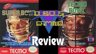 Tecmo Bowl / Tecmo Super Bowl (NES) Review - Dubious Gaming