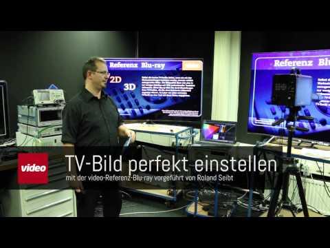 TV-Bild perfekt einstellen: Mit der video-Referenz-Blu-ray klappt's