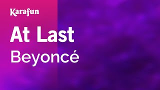 Karaoke At Last (From Cadillac Records movie soundtrack) - Beyoncé *