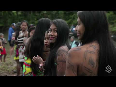 Silversea's Guests Meet the Embera People of Panama's Darien Jungle