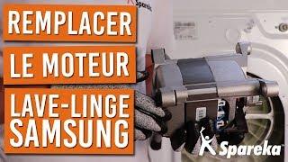 Comment changer le moteur de votre machine a laver SAMSUNG