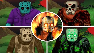 Friday the 13th: Killer Puzzle - ALL INTROS & ENDING CUTSCENES (iOS Android)
