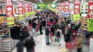 Freezemob Auchan Leers N°2