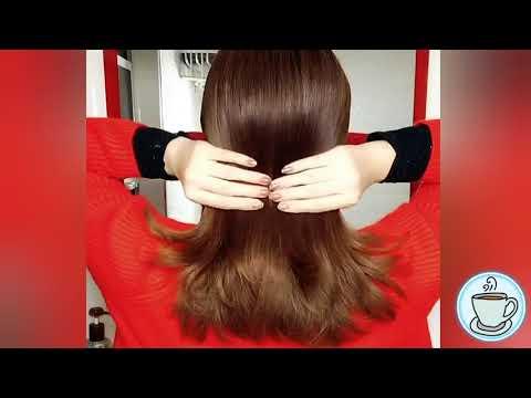 Прически которые можно сделать самой себе на средние волосы