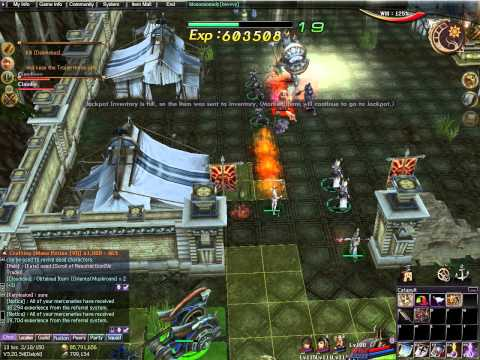 Atlantica Online TBS mission: Saving Helen with staff main lvl 115 (solo run in squad mode)