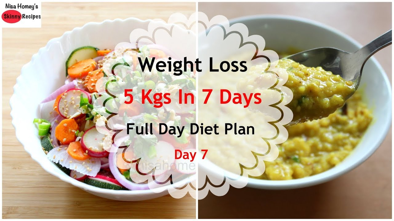 7 Days South African Diet Plan To Lose Weight Fast