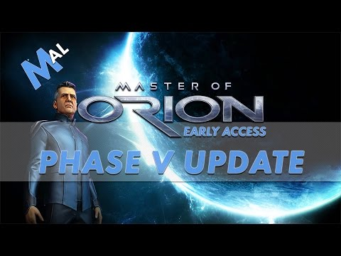 MASTER OF ORION | NEWS | PHASE 5 UPDATE!