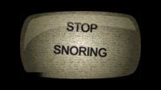 Stop Snore | 3 simple Tips