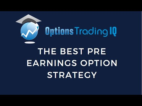 Pre earnings option strategy