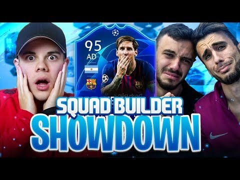 SQUAD BUILDER SHOWDOWN con TEAM OF THE GROUP STAGE!!! w/Fius Gamer & Ohm | FIFA 19 ULTIMATE TEAM
