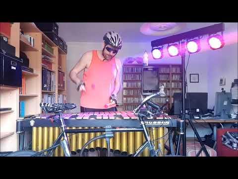 "24. Mein Fahrrad, Matthias Strucken, Vibraphon, ""Corona-Krisen-Video"" (23.3.2020)"