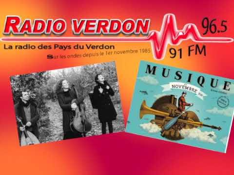 Joulik au micro de radio Verdon dans le cadre de Musique en Novembre