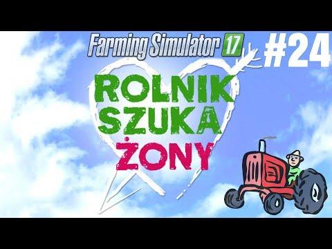 ☆Rolnik szuka Żony w Farming Simulator 17☆ |#24| - Janusz znalazł ciągnik!