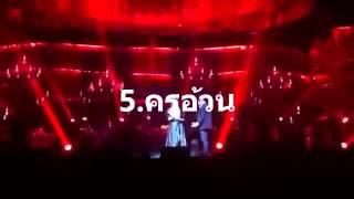 7 อันดับนักร้องไทย เพลง Phantom of the opera