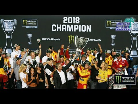 Recap Logano's championship run in 195 seconds