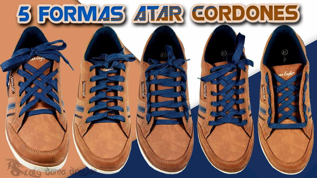zapatos deportivos 4e74f cb709 5 Divertidos Diseños de amarrarse los cordones o agujetas de los Zapatos |  DIY