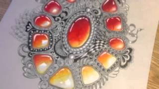 How to draw gems