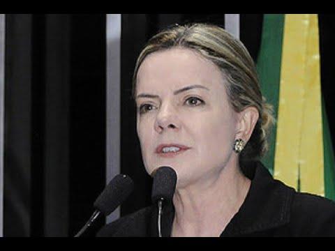 Gleisi Hoffmann defende mudança na política de preços da Petrobras