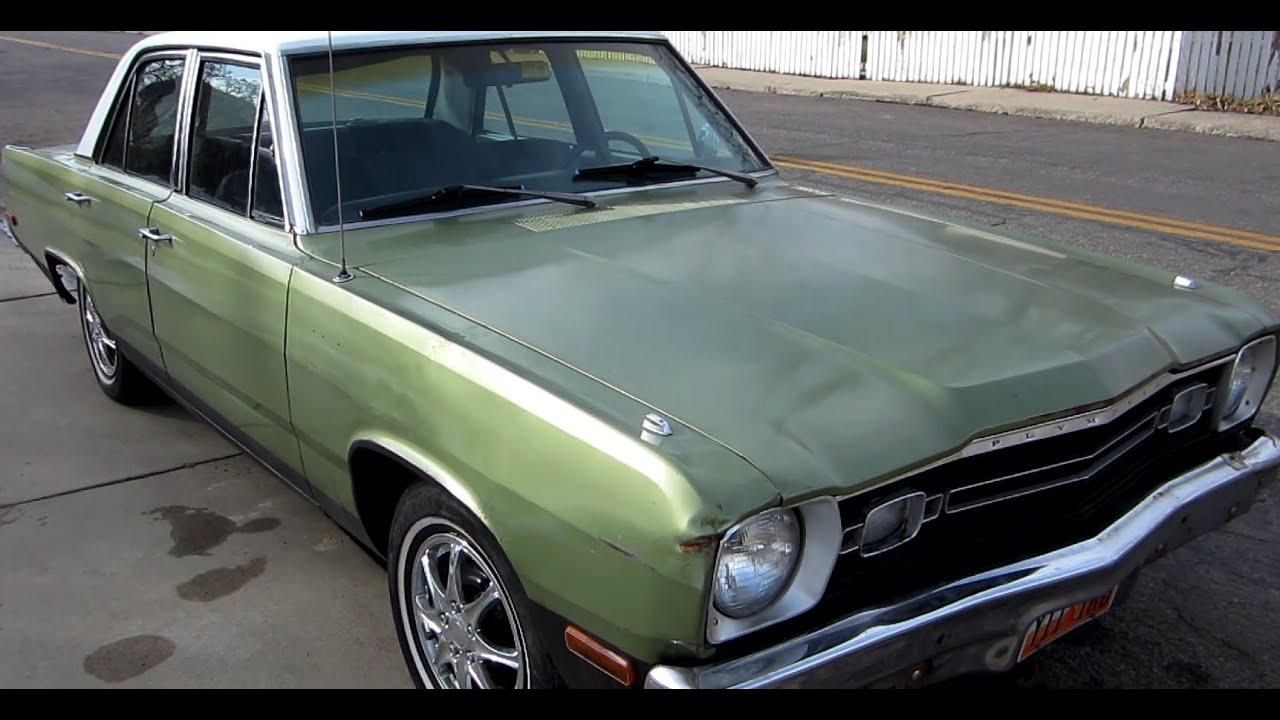 1973 Plymouth Valiant - YouTube