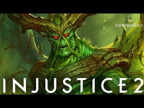 SWAMP THING MAKING PEOPLE RAGE QUIT! - Injustice 2: 'Swamp Thing' Gameplay