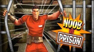 Noob Escapes Secure Prison! (Fortnite Prison Escape Challenge)
