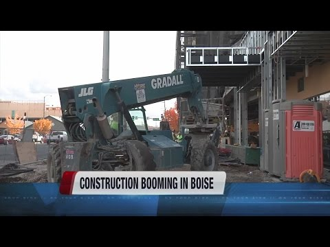 Construction job market booming in Boise
