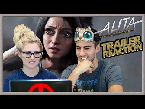 Alita: Battle Angel TRAILER 2 REACTION - SENSORY DEPRIVATION