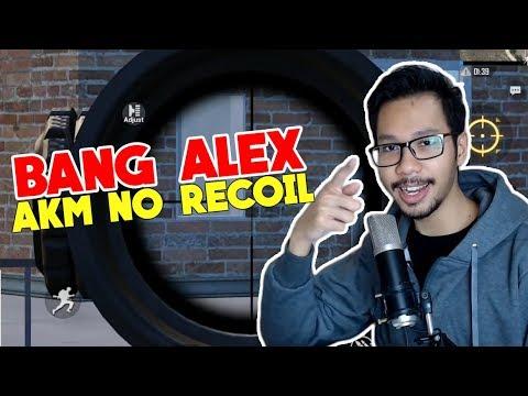 Hebat! Bang Alex Pakai AKM No Recoil - Pubg Mobile Indonesia