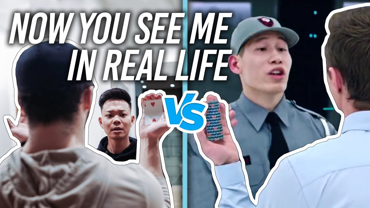 Download Now You See Me VS REAL LIFE (CARD SCENE RECREATED)