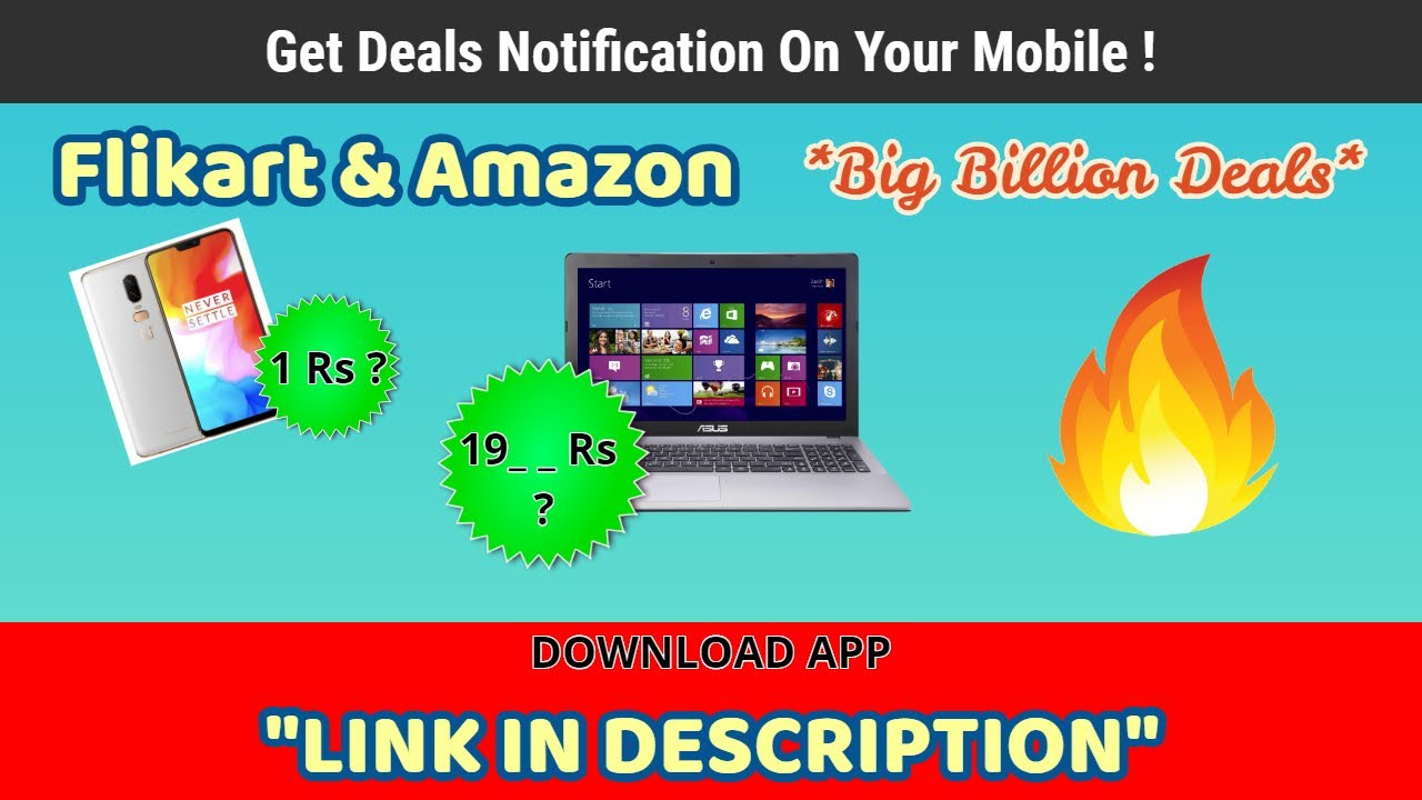c2bc1f0d8439 Get Latest Shopping Deals On Your Mobile ! 1 Rs Deal   - YouTube