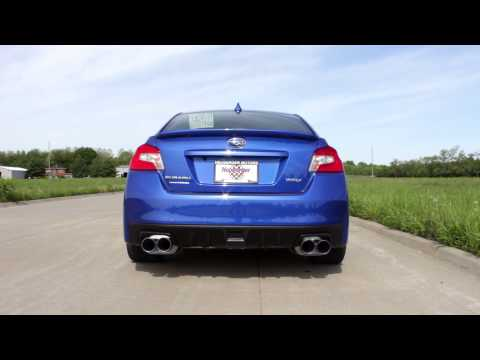 SubiSpeed - 2015 WRX Invidia Q300 Quad TI Tipped Cat Back Exhaust - Rev's and Drive by's.