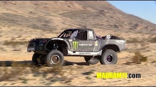T1 TRUCKS ON THE PIPE AT THE 2019 KING OF THE HAMMERS