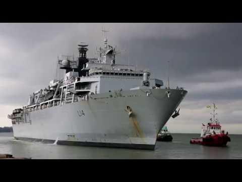HMS Albion in Brunei