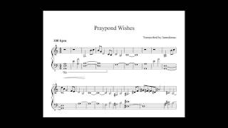 Praypond Wishes piano sheet music (World of Warcraft)