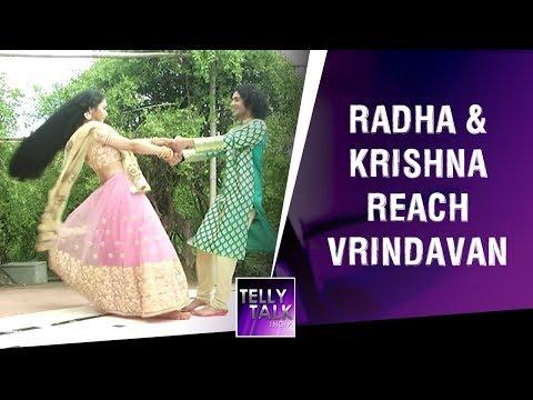 Sumedh Mudgalkar AKA Krishna & Mallika Singh AKA Radha Reach Vrindavan | Radha Krishna