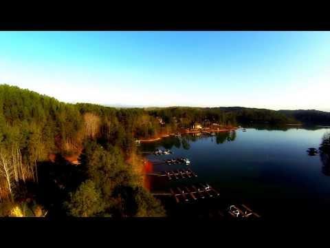 Waterside Crossing Subdivision Video w Aerial Lake Keowee Mike Matt Roach