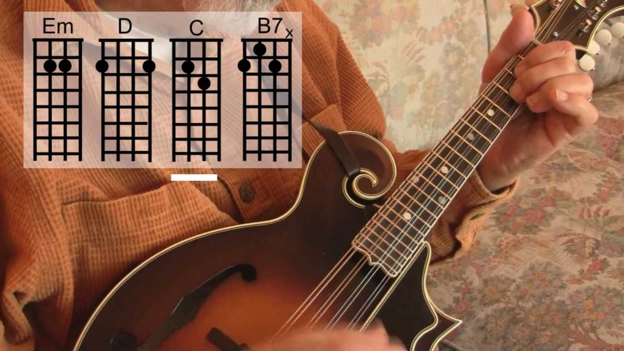 What Child Is This? easy mandolin chords - Roland White - YouTube