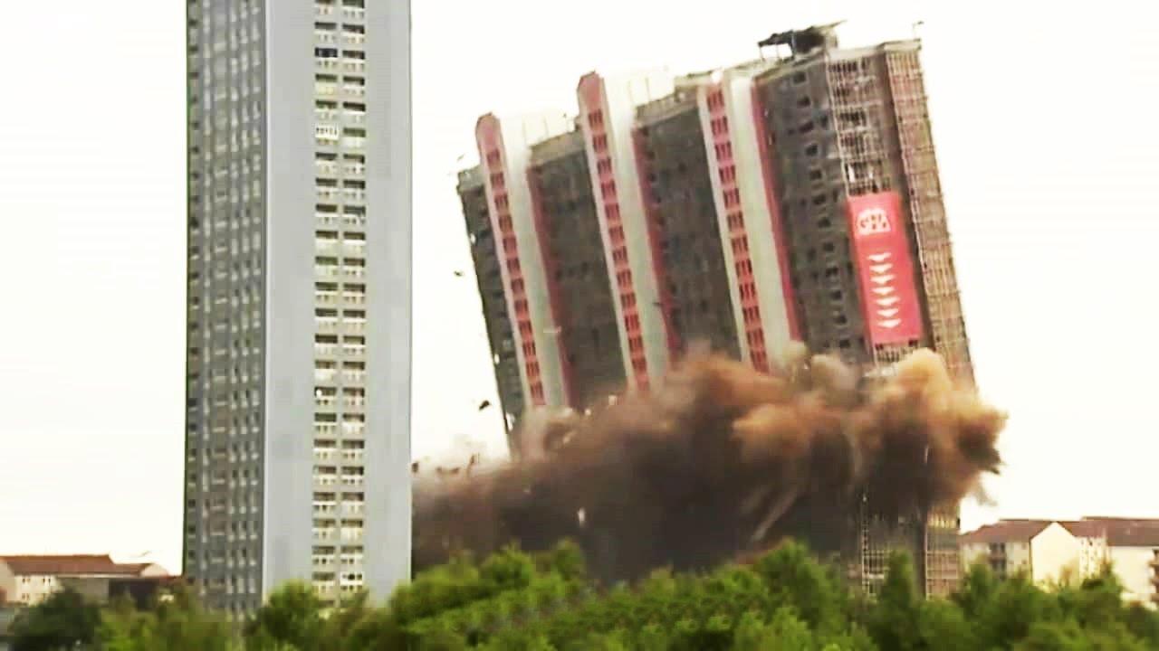 Image result for destroy hight building