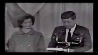 President-elect John F. Kennedy -Nov. 9, 1960 Hyannis Armory