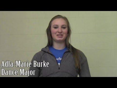Adla-Marie Burke, Dance Major