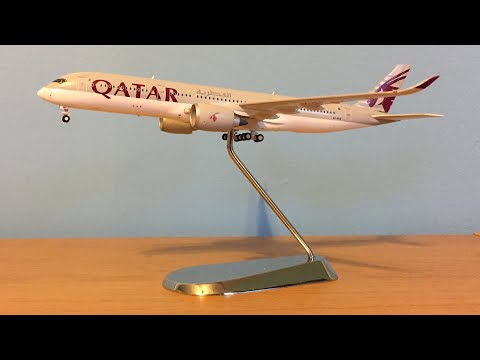 Gemini Jets Qatar Airways A350-900 1/400 scale Review