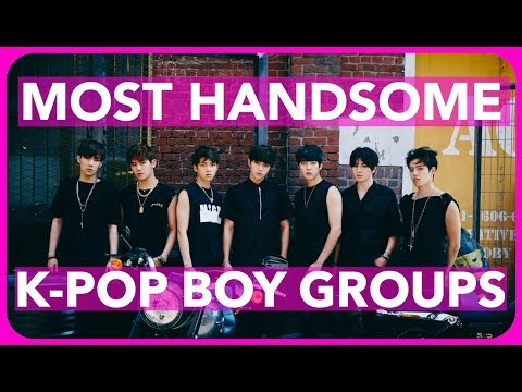 Thumbnail: MOST HANDSOME K-POP BOY GROUPS OF 2017