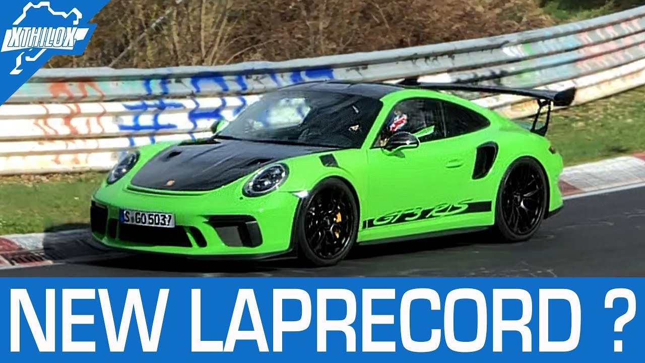 New Gt Rs Laprecord  Min Porsche   Gtrs On The Nurburgring Nordschleife K