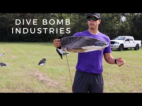 Dive Bomb Decoys (Canadian Silhouettes & Socks)