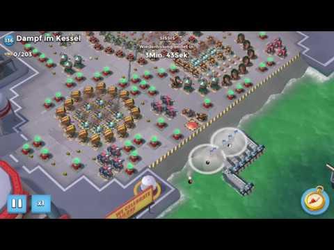 Boom Beach - Dampf im Kessel mit Bullit - YouTube